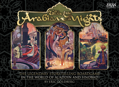 Tales of Arabian Nights Cover