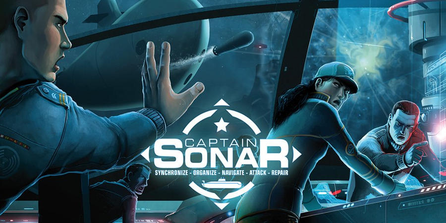 Captain Sonar Box Cover