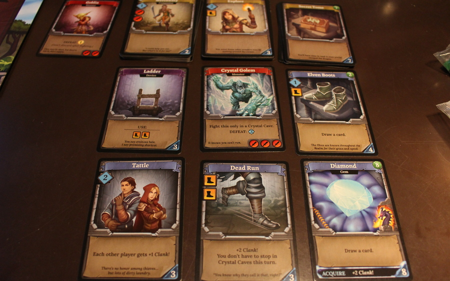Clank Deck Building Game Cards