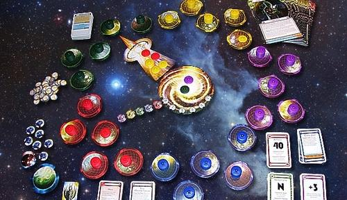 Cosmic Encounter components