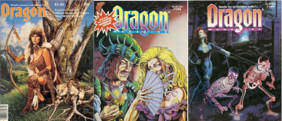 Dragon Magazine Covers