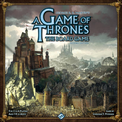 Game of Thrones the Board Game box cover