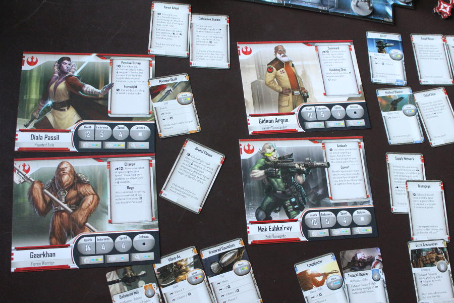 Star Wars Imperial Assault Characters