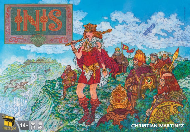 Inis Board Game Box Front