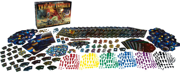 Twilight Imperium Fourth Edition Components