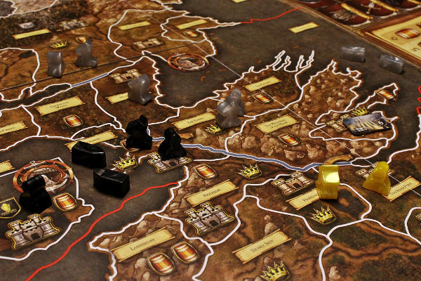 A Game of Thrones The Board Game gameplay
