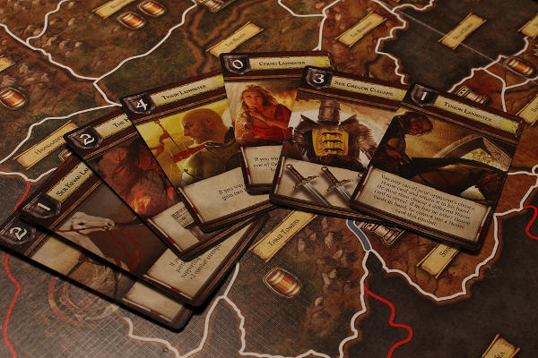 A Game of Thrones The Board Game House Cards
