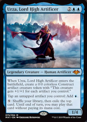 Urza, Lord Artificer