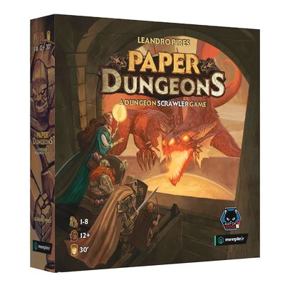 Paper Dungeons: A Dungeon Scrawler Game (PREORDER)