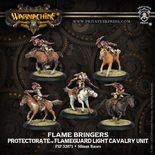 Protectorate of Menoth Flame Bringers Flameguard Light Cavalry Unit