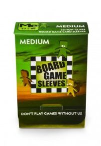 Arcane Tinmen Non-Glare Board Games Sleeves, Medium 57x89mm (50pcs)