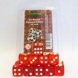 Blackfire Dice Set (15xD6 16mm, Transparent Red)
