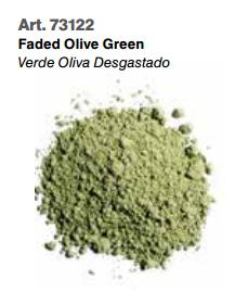 Vallejo Pigments: Faded Olive Green 73122