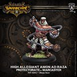 Protectorate of Menoth Warcaster High Allegiant Amon Ad-raza