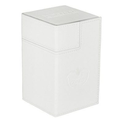 Ultimate Guard Deck Box, Flip'n'Tray Xenoskin 100+ White