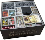 Folded Space Mansions of Madness 2nd Ed Insert (FS-MAN)