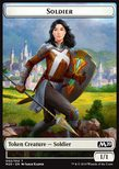 Soldier TOKEN White 1/1 - Core 2020