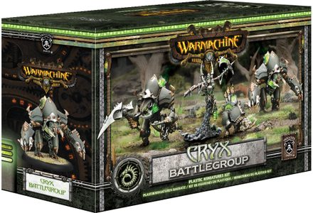 Warmachine Battlegroup Starter Box: Cryx Mk III