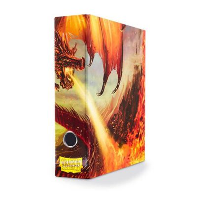 Dragon Shield Slipcase Binder: Red Art Dragon