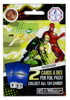 DC Comics Dice Masters: Green Arrow and The Flash Blind Foil Pack