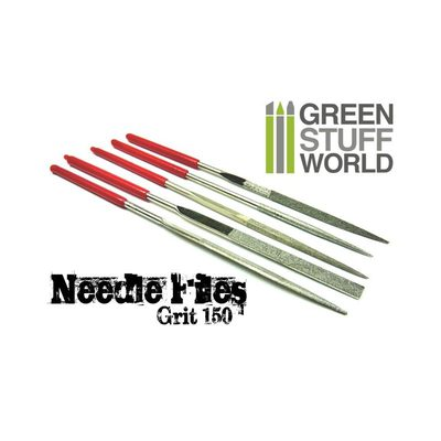 GSW Diamond Needle Files Set 140x3mm