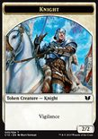 Knight 2/2 // Angel 4/4 TOKEN - Commander 2015