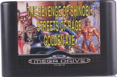 Mega Games 2 - Golden Axe / Streets Of Rage / The Revenge Of Shinobi - Mega Drive