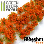 GSW Blossom Tufts: Orange Flowers