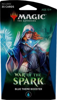 War of the Spark Theme Booster Blue
