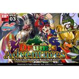 Future Card Buddyfight Set 3: Drum's Adventures Booster