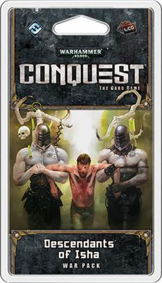 Warhammer 40,000 Conquest LCG Descendants of Isha War Pack