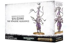 Chaos Daemons Syll'Esske: The Vengeful Allegiance