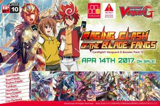Cardfight Vanguard G Set 10: Raging Clash of the Blade Fangs Booster