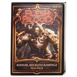Flesh and Blood TCG - Welcome to Rathe Hero Deck Rhinar Reckless Rampage (PREORDER)
