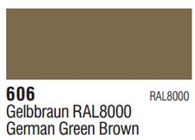 Vallejo Surface Primer: German Green Brown 70.606