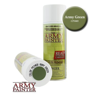 Army Painter Spray, Army Green