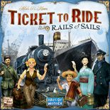 Ticket to Ride Rails & Sails (FI/SE/NO/DK)
