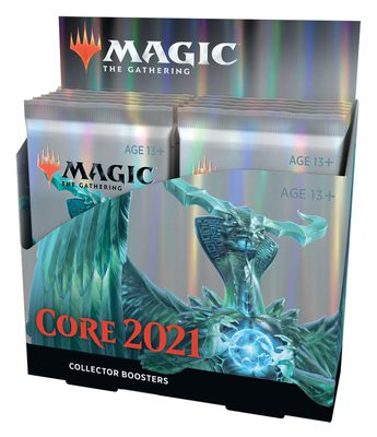 Core Set 2021 Collector Booster Display Box