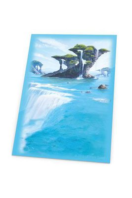 Ultimate Guard Printed Sleeves Standard Size Lands Edition I: Island (80ct)