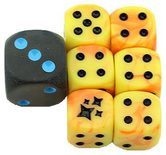 Pokemon Hidden Fates Dice set of 6 Plus Bonus Die