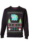 Pokemon Sweater Bulbasaur Christmas (Size S)