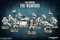 Tau Empire Fire Warriors Strike Team
