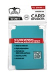 Ultimate Guard Card Dividers - Petrol Blue (10pcs)