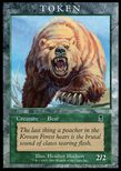 Bear TOKEN 2/2 (2001) - Player Rewards Promot
