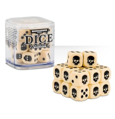 Games Workshop Dice Cube Bone