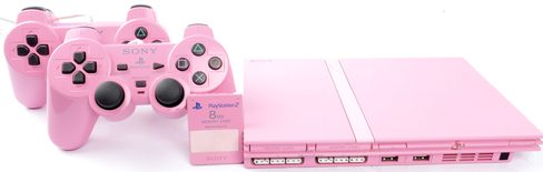 Playstation 2 Console Slim Limited Edition Pink