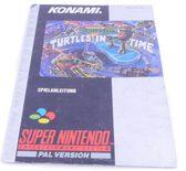 Teenage Mutant Hero Turtles IV: Turtles in Time (Manual)
