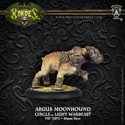 Circle Orboros Argus Moonhound