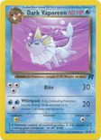 Dark Vaporeon 45/82 - Team Rocket - Muut Kortit