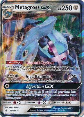 Metagross GX 85/145 - Sun & Moon Guardians Rising